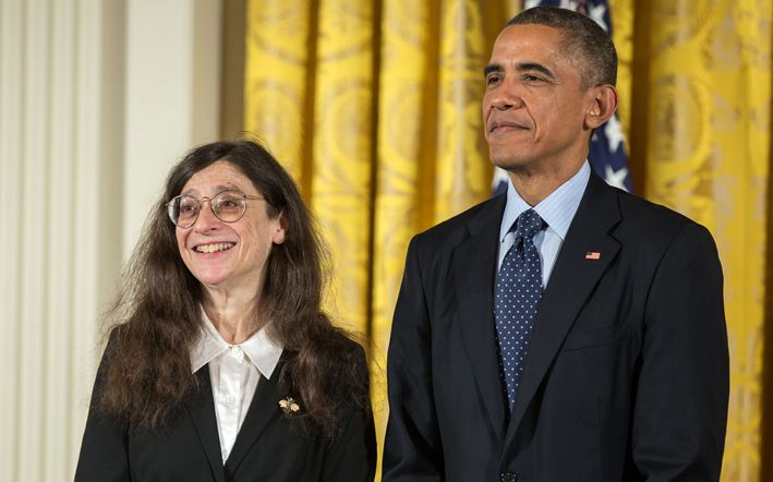 """""""May Berenbaum on the New U. S. Strategy to Promote Pollinator Health"""" by Heather Thorstensen.  The recipient of Sigma Xi's 2015 John P. McGovern Science and Society Award, entomologist May Berenbaum, has been called on as a public expert on honeybees. She shares her thoughts with Heather Thorstensen, Sigma Xi's manager of communications, on the recently released—and the first—National Strategy to Promote the Health of Honey Bees and Other Pollinators.  #Honeybees #Pollinators #Politics"""