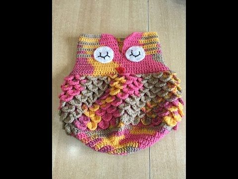 Tuto nid d'ange chouette au crochet - YouTube