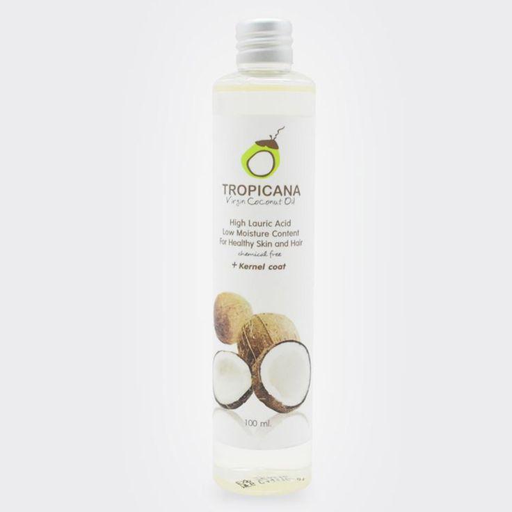 Pure essentiële oliën organische virgin kokosolie 100 ml/Fles natuurlijke Thailand kokosnoot huidverzorging haarverzorging olie body massage olie