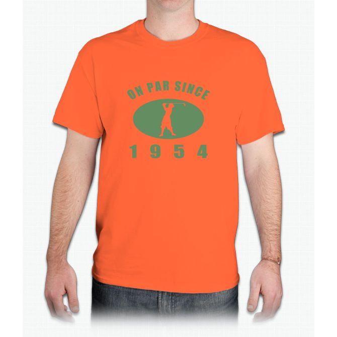 1954 Birthday Golf - Mens T-Shirt