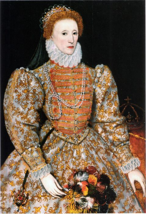 Queen Elizabeth I. When they call her the Virgin Queen, they meant she never had a child; nothing to do with our current usage of the word Virgin. And the proof is because Dr. Who said he partied with her.