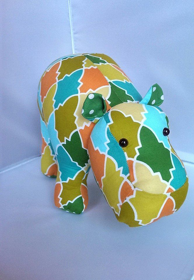 Just love how this hippo came out!!
