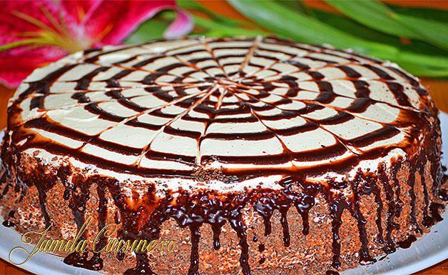 Tort cu ciocolata alba si ananas - reteta video
