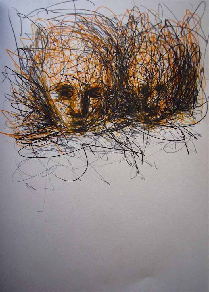 Faces - Notebook 2007 #drawing #marxal