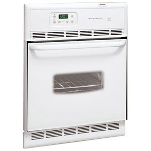 frigidaire feb24s2as 24 single electric wall oven white on wall ovens id=39234