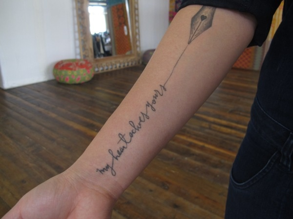 214 best images about lettering tattoos on pinterest for Tattoo forearm writing