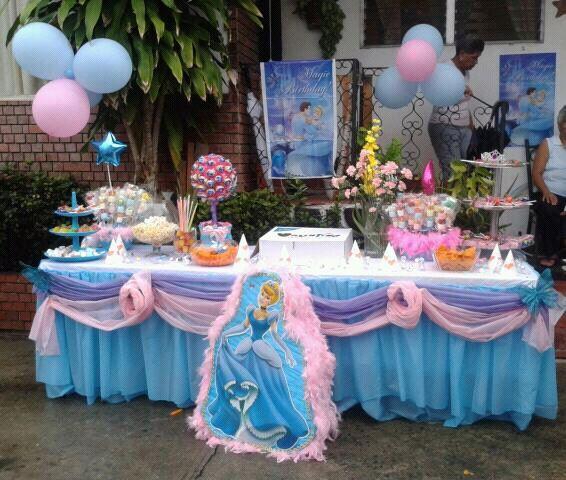 Las 25 mejores ideas sobre decoraciones cenicienta en - Decoracion para fiestas de cumpleanos infantiles ...