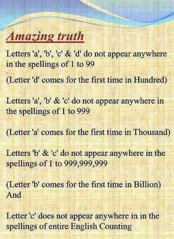 Amazing facts about #MATHS #facts | Amazing M + A - T * H % S ...