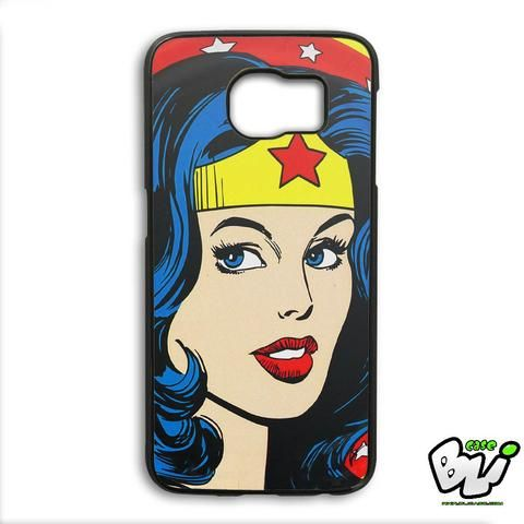 Wonder Woman Face Samsung Galaxy S6 Edge Plus Case