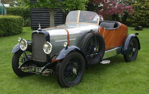 Alvis 12/50 TJ Special body 2 seater Sports (1932)