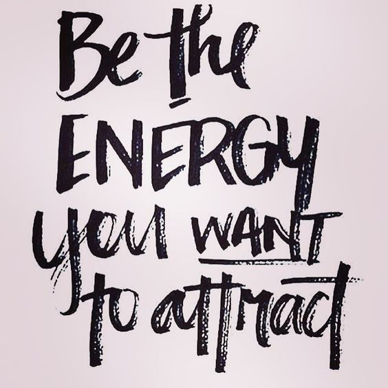 Yes. Be the energy you want to attract. What are you wanting to attract? What is the vibration you are putting out there? Click the link to purchase my vibrational intention setting workshop. Get clear on your desires, what it is you want, + raise your vibration to bring it in. http://www.heartsoulhealthwellness.com/shop/intention-setting-workshop #manifest #create #selflove