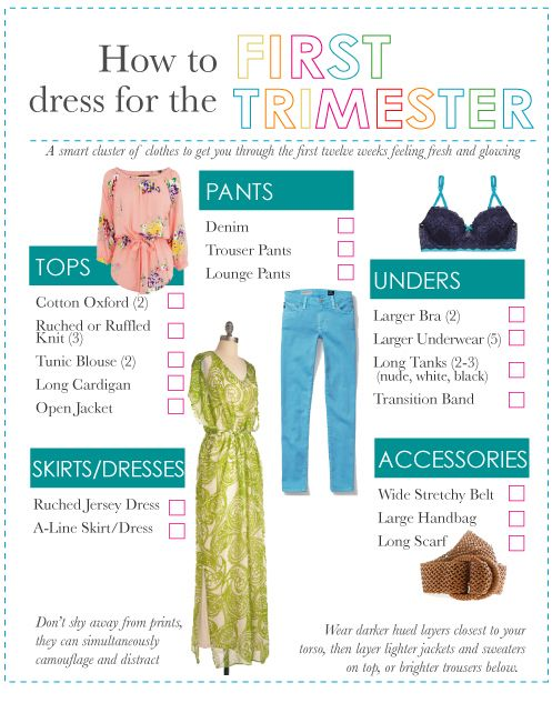 e5bd572ff2722 How to hide a baby bump or just look slimmer in the first trimester ...