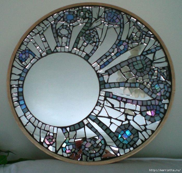 Зеркальная мозаика. Роскошные идеи для вдохновения (39) (700x665, 343Kb)