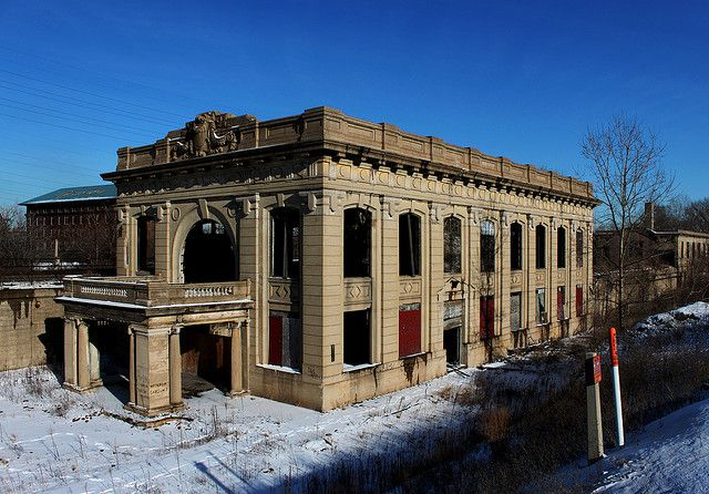 Abandoned Union Station in Gary, IN