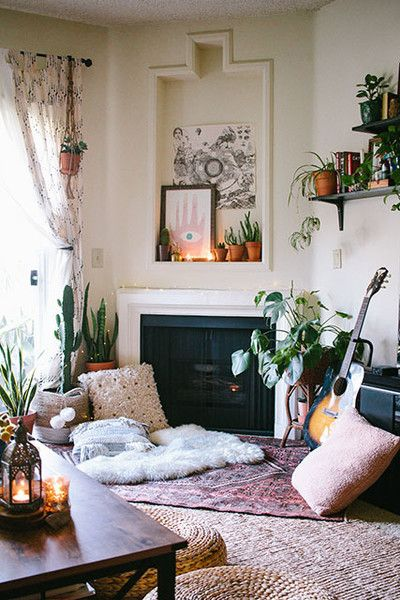 Low Lounging - How To Pull Off A Boho Bungalow When It's No Longer Summer - Photos
