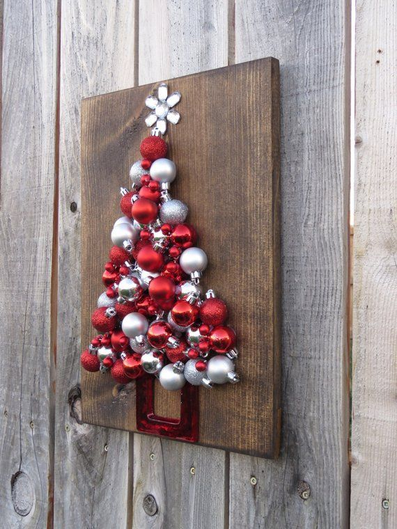 Naturals On Sale Now Christmas Tree Silhouette Made Of