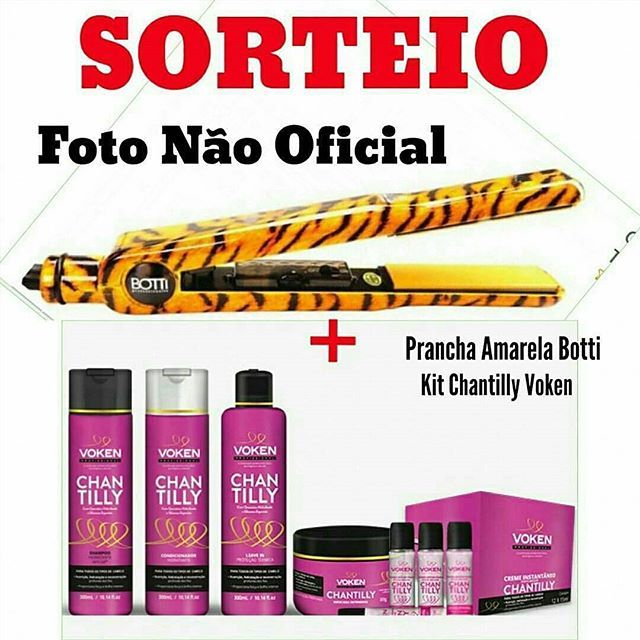 @Regrann from @molecamenina -  Ta  rolando sorteio! 😍👉Um kit completo linha Chantilly da Voken (shampoo, condicionador, máscara de hidratação, leave in e uma ampola mágica)😱😱😍👉Uma prancha amarela da Botti !😱😍Achem a FOTO OFICIAL pela tag #sorteiommcabelodivo ⚠ Sorteio válido para todo o Brasil.#boatarde #sorteio #premio #presente #mimo #blogueiracarioca #parceria #vemver #dicadodia # #blogueirasbrasil #sorteios#instasorteio #sorteiotop #love #hair #cabelo #hair #molecamenina…