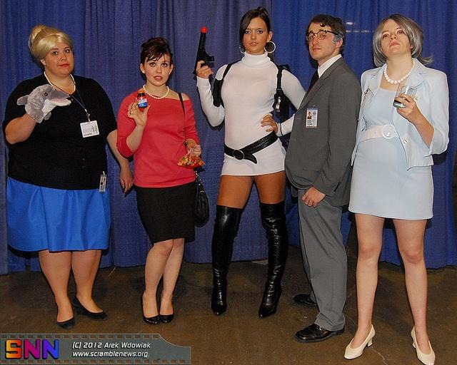 Archer costumes: Pam, Carol/Cheryl, Lana, Cyril, Malory ...