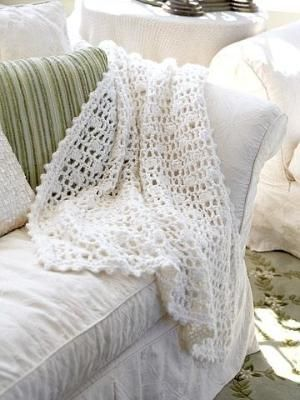 Beautiful Crochet Afghan by PatLeB