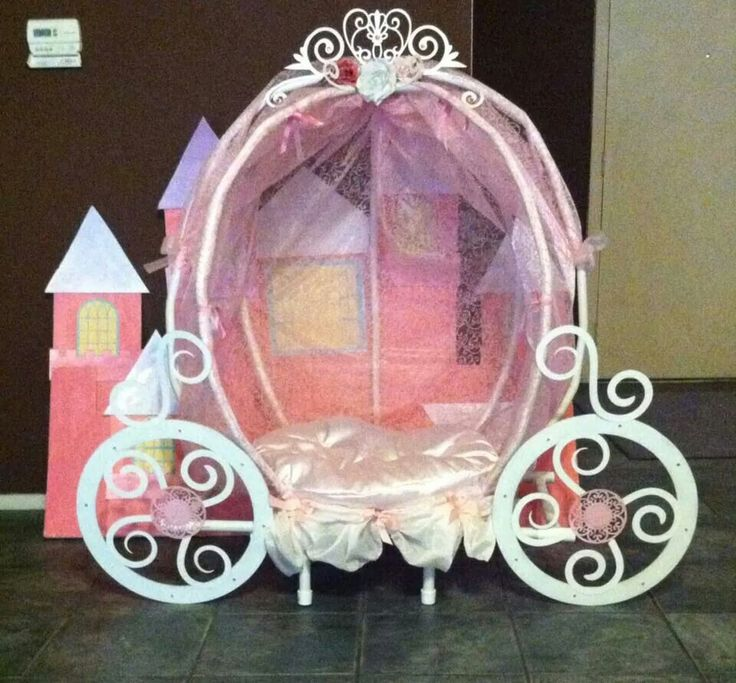 How to make a princess carriage...