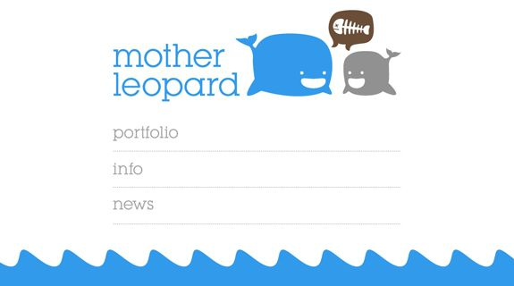 Mother Leopard web design