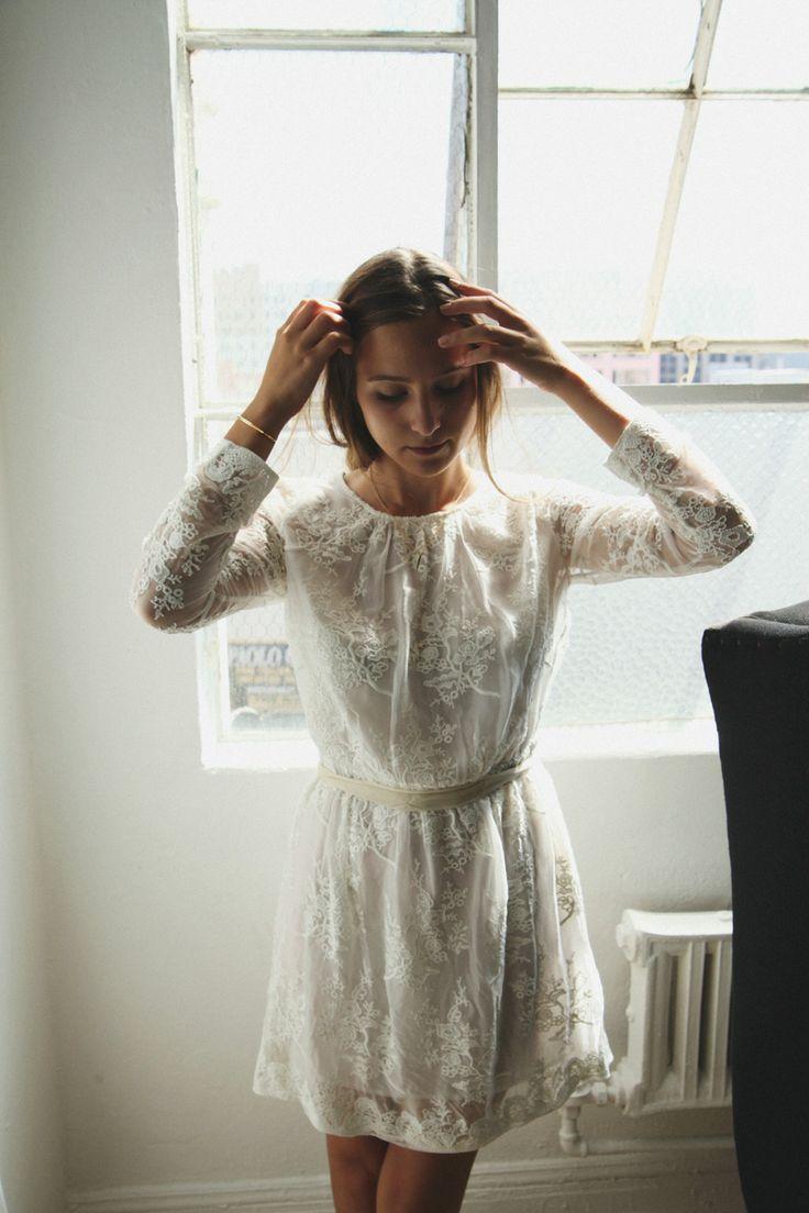 lace dress love