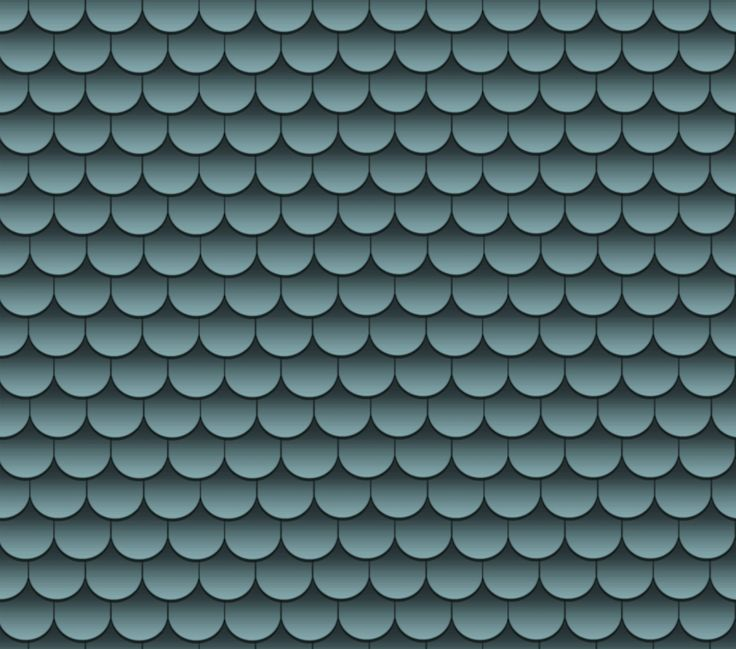 Blue Scallop Roof Shingles For The Home Pinterest