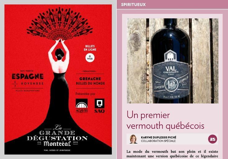 Un premier vermouth québécois - La Presse+