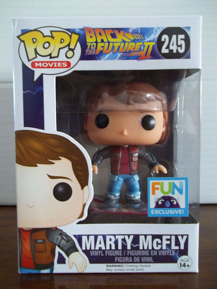 Funko POP Back to the Future II MARTY MCFLY Hoverboard FUN Exclusive RARE! #245 in Collectibles, Pinbacks, Bobbles, Lunchboxes, Bobbleheads, Nodders | eBay