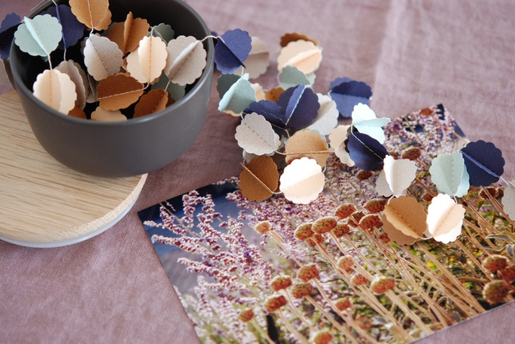 """CLOUDS """"automne"""" handmade paper garland - styling and photo ©  Mi-avrilPaper Garlands, Mi Avril, Clouds Automne, Shops, Parties Stuff, Paper Sewing, Diy Garlands, Paper Cardbrd, Handmade Paper"""
