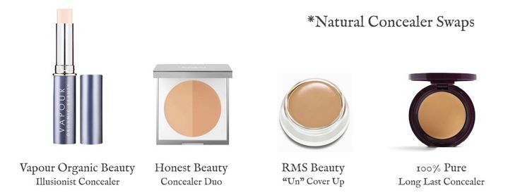 How & why I switched to a natural concealer.