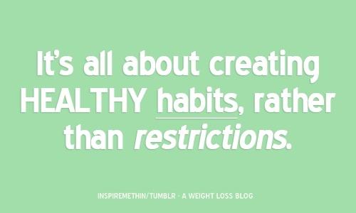 lifestyle change!