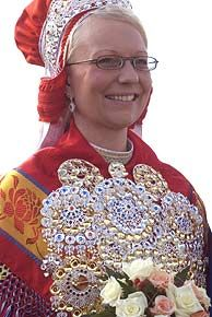 National costume in Finnmark, Norway
