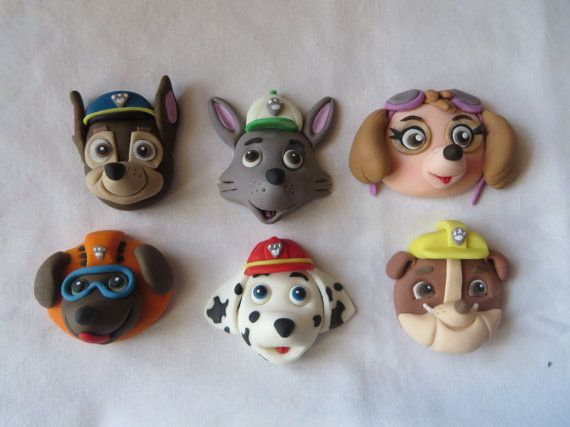 Kids Toys Action Figure: Cupcake Topper Heads