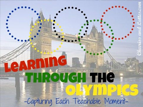 Learning Through The Olympics {Capturing Each Teachable Moment}: Kids Learning, Milk, Teachable Moment, Teaching Ideas, Fun N Learning Ideas, Fun Ideas, Learning Activities, Olympics Capturing, Kidz Ideas