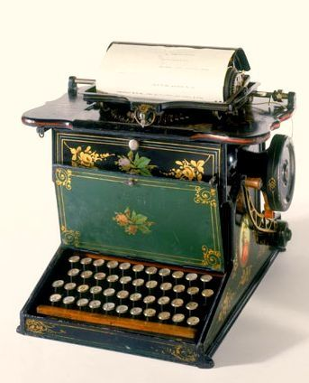 antique typewriters pinterest | Vintage Typewriters / sholes   ..rh