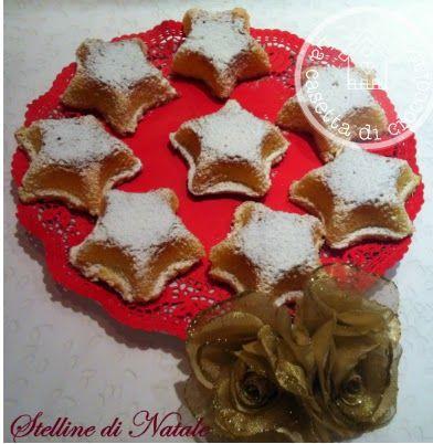 la casetta di cioccolato: Dolci stelline di Natale