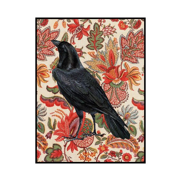 Poster Flower Raven & Ram 30x40cm 299 kr. - RoyalDesign.se