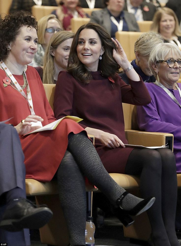 The Duchess recently had her famously bouncy curl cut in a much shorter and more manageable style