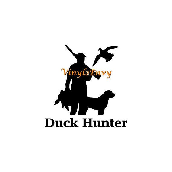 Duck Hunter Decal - Car Decal - Vinyl Car Decals Window Decal Signage  sc 1 st  Pinterest & 29 best Hunting Decals images on Pinterest   Deer hunting Window ...