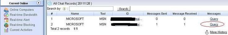 Monitorizarea activitatii pe internet: cum sa interogati inregistrarile de chat cu WFilter? Detalii pe site. #monitorizare #angajati #wfilter