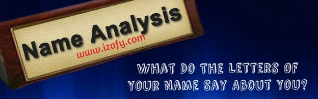 What Do The Letters Of Your Name Say About You.