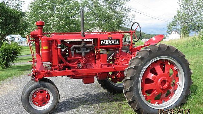Farmall F12 Carb : Farmall f presented as lot g at harrisburg pa