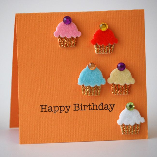 Открытка с днем рождения кексик своими руками, днем рождения володя