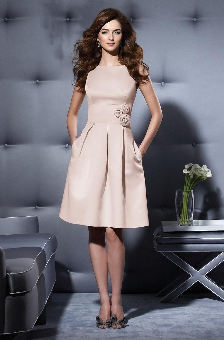 Best 25 cute bridesmaid dresses ideas on pinterest tulle prom cute modest bridesmaid dress but minus the flowers ombrellifo Choice Image