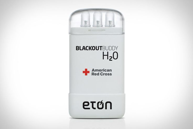 Yes, candles and flashlights can provide light during an emergency — but candles can be fire hazards, and flashlights require you to make sure their batteries are fresh. The Eton Blackout Buddy H2O eliminates both these problems by providing lighting...