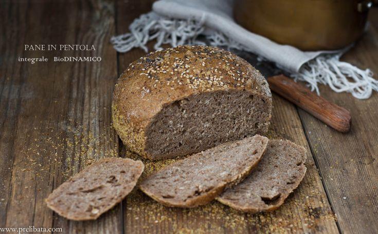 Pane integrale in pentola #breadandmade #biodinamica