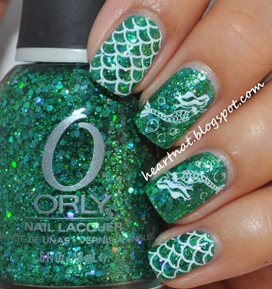 Best Nail How-to ideas and directions Including awesome mermaid nails and French tip tips