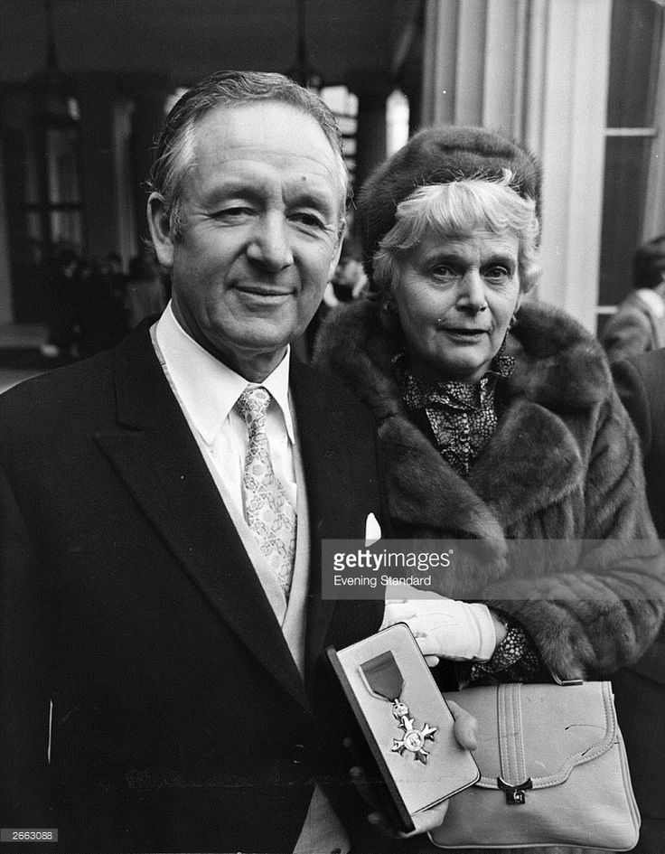...receiving his OBE. James Herriot is the pen name of James Alfred Wight, an English veterinary surgeon and writer. Wight is best known for his semi-autobiographical stories, often referred to collectively as All Creatures Great and Small.