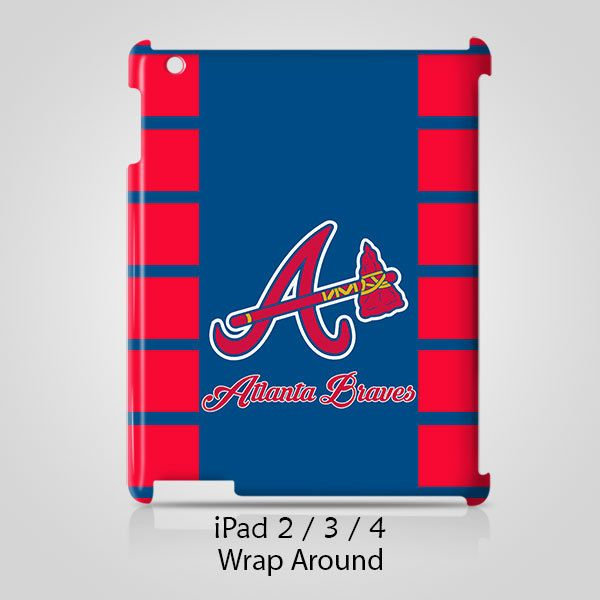 Atlanta Braves iPad 2 3 4 Case Cover